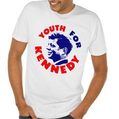YOUTH FOR KENNEDY T SHIRT