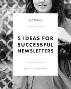 5 Quick Tips to Improving Your Newsletter, blogging tutorial, mailchimp tips, blog guide