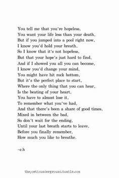 Poet Quotes, Words Quotes, Life Quotes, Escape Quotes, Hemingway Quotes, Sayings, Inspirational Poems About Life, Erin Hanson Poems, Eh Poems