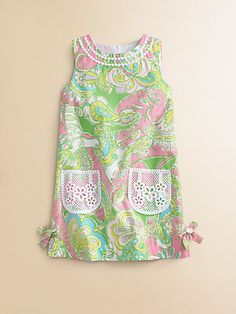 Lilly Pulitzer Kids - Toddler's & Little Girl's Little Lilly Classic Shift Dress - Saks.com
