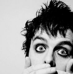 Billie Joe Armstrong - gotta love the guyliner!