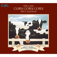 Lang January to December, x 24 Inches, Perfect Timing Cows 2015 Wall Calendar by Lowell Herrero Funny Calendars, 2015 Wallpaper, Farm Images, January To December, White Cow, Cow Art, Perfect Timing, Animal Drawings