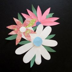 """""""SPRING THINGS"""" CUT PAPER CRAFTIVITY - TeachersPayTeachers.com MANY PROJECTS IN ONE LESSON PLAN!!!"""