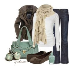 Easy comfy Fall Outfit.