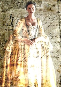 Claire's exquisite Parisian Dress in Season Two.