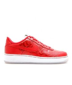 d2c2713f64 Air Force 1 Low Premium 08 Booba Varsity Red Runing Shoes