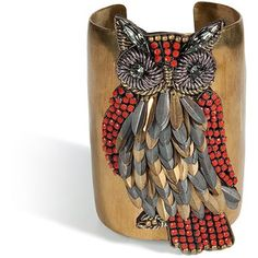 Holy epic of all things epic! ♥ #owls #jewelry
