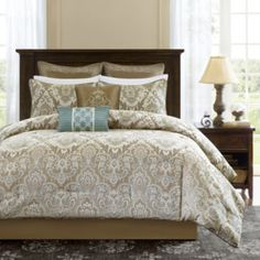 Madison Park Sheffield 8-pc. Comforter Set  found at @JCPenney