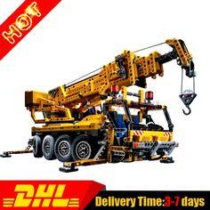 138.00$  Buy here  - Presell Lepin 20068 Technic Mechanical Series The Moving Crane Set Children Educational Building Blocks Bricks Toys Model