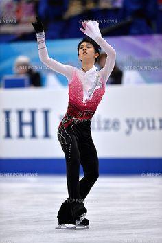 Yuzuru Hanyu (JPN), .FEBRUARY 8, 2013 - Figure Skating : The ISU Four Continents Championships 2013, Mens Singles Short Program at Osaka Municpial Central Gymnasium, Osaka, Japan. (Photo by Jun Tsukida/AFLO SPORT) [0003] .