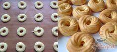 Sárgakrémes képviselőfánk Eclairs, Doughnut, Cheesecake, Cupcakes, Vegetables, Cooking, Recipes, Food, Pizza
