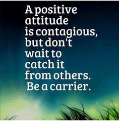 A positive attitude.....work in progress