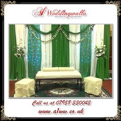 wedding mehandi stages decoration For booking call us at 07958 330043 or visit http://www.a1ww.co.uk. #wedding, #weddingstages, #weddingdecoration,