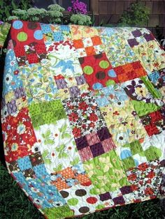 """Life is Like a Box of Chocolates"" quilt pattern.  Did it once.  Will do it again!"