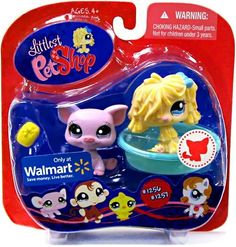 Littlest Pet Shop Sheep Dog & Pig #1256 & #1257 ~ Walmart Exclusive by Hasbro. $14.36. Welcome these new friends into your very own LITTLEST PET SHOP, where all your pet-lovin' dreams come true! Two cute pets come with accessories for some pet lovin' fun!