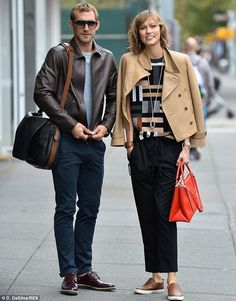 Karlie Kloss.. photo shoot for Coach.. cute and casual class..