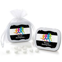 Set The Pace - Running - Personalized Mint Tin Track, Cross Country or Marathon Favors