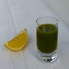 Green Lemonade | Omega Recipes--detox recipe--deelish!