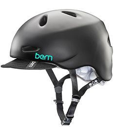 Bern Berkeley Summer Helmet with Visor,Medium/Large,Satin Black | Your #1 Source for Toys and Games