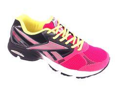 Tênis Reebok RBRN Up Running Feminino Pink/Preto   - Marcas - Reebok - Tênis Casual : Loja Passo a Passo