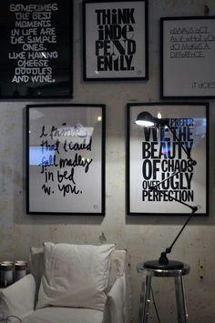 Frames everywhere. My style.