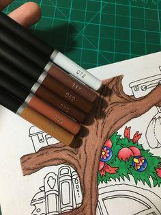 Adult Coloring, Coloring Pages, Colouring Techniques, Colour Combinations, Colored Pencils, Art Supplies, Castle, Decorating, Colors