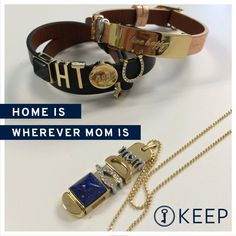 Need a personalized Mother's Day Gift? Personalized Jewelry is a great way to express how you feel! Host an online party and get one for FREE or shop direct at https://www.keep-collective.com/with/stephaniefeldman