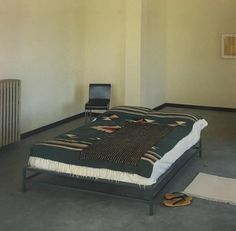 Donald Judd bedroom