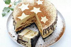 De Italiaanse klassieker in de vorm van een taart. Spectaculaire afsluiter van je (kerst)diner - Recept - Tiramisutaart - Allerhande