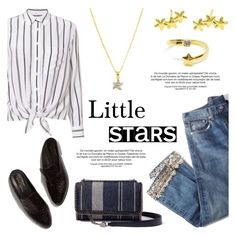 """""""Little Stars"""" by donna-italiana ❤ liked on Polyvore featuring Brock Collection and Equipment"""