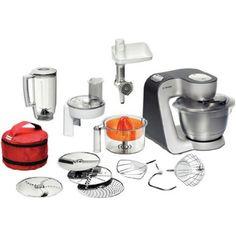 totales weibchenklischee aber: IN LOVE!! Bosch MUM 56S40 Styline Küchenmaschine