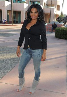 Nia Long - Arrivals at the 'House of Lies' Panel Discussion blackwomeninboots.blogspot.com