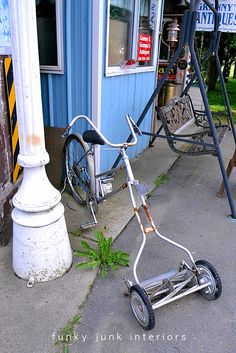 The sustainable lawn mower!