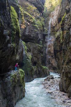 Partnach Gorge, Germany by Wandering Wheatleys