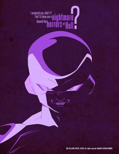 DBZ Villains Poster 1
