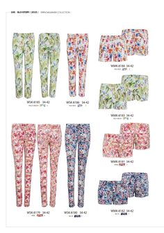 Blooming beautiful trousers and shorts for Summer  #forwomen #clothing #fashion #glostory #jeans #denim #trouser #flowers #shorts #forsummer #cute #pinkflowers