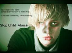 Stop child abuse.
