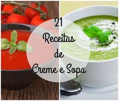 21 Receitas de Creme e Sopa