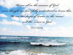 Spiritual Awakening Quotes, Priest, Consciousness, Spirituality, Ocean, God, Beach, Outdoor, Dios