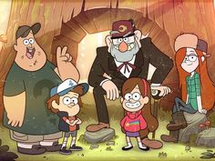 First, do you watch Gravity Falls? Do not go any further if you don't.