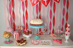 Valentine's is this Friday! Village Sweets has a large variety of delicious desserts and treats that can be made available for anyone who wants to treat their Sweetie or maybe themselves! Valentines Sweets, Valentines Day, Wedding Favors, Wedding Cakes, Delicious Desserts, Buffet, Birthday Cake, Treats, Party