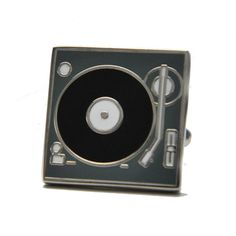 Record Player cufflinks with fabulous attention to detail. Incredible Gifts, Free Black, Record Player, 50th, Cufflinks, Groom, The Incredibles, Range, Detail