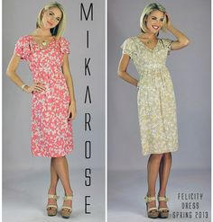 Spring Line launches in March!  www,mikarose.com