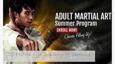 Homestead, FL Men & Women Adult Martial Arts & Self Defense Classes