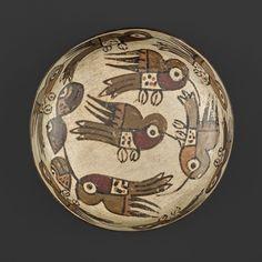 Bowl Depicting Hummingbirds | The Art Institute of Chicago