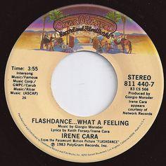 on Billboard / Flashdance.What A Feeling / Irene Cara Fun Music, Music Life, I Love Music, Old Records, Vinyl Records, Vinyl Labels, Music Radio, Oldies But Goodies, Stevie Wonder