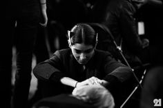 Le 21ème / Backstage at Damir Doma Womens, Spring/Summer 2014 | Paris  // #Fashion, #FashionBlog, #FashionBlogger, #Ootd, #OutfitOfTheDay, #StreetStyle, #Style