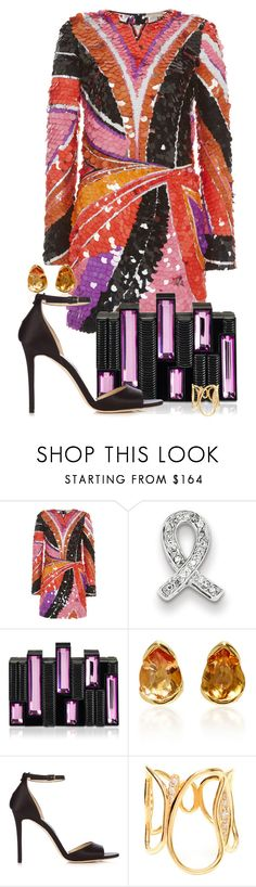 """My Fantasy Wardrobe"" by neuroticfashionplate ❤ liked on Polyvore featuring Emilio Pucci, Kevin Jewelers, Rauwolf, Fernando Jorge and Jimmy Choo"