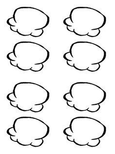 my most downloaded freebie! blank popcorn pieces for popcorn words ...