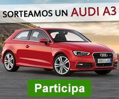 Sorteo de un coche Audi A3 http://sorteosconcursos.es/2015/11/sorteo-de-un-coche-audi-a3/